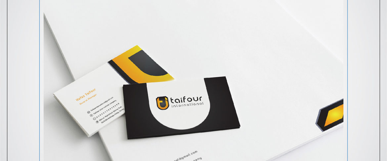 Taifour logo desogn by 6D 9