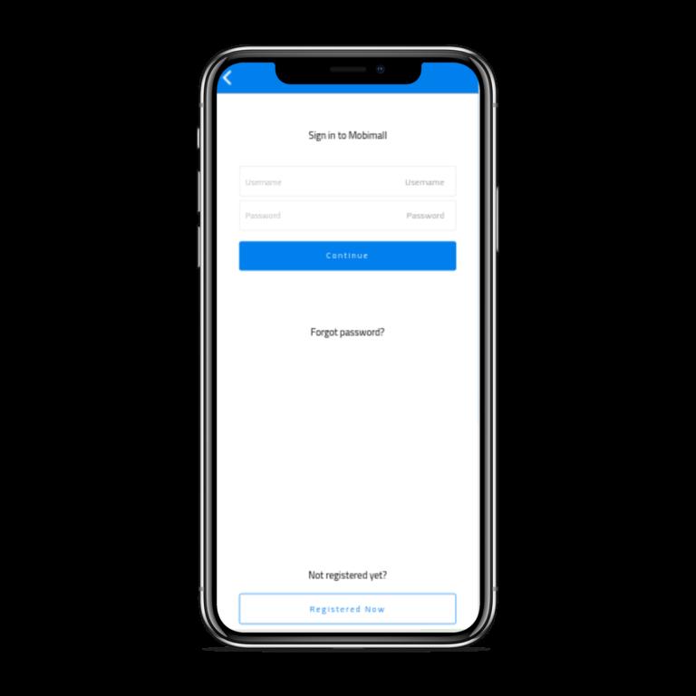 تطبيق موبايل لمتجر إلكتروني متعدد الاستخدامات تسجيل الدخلو